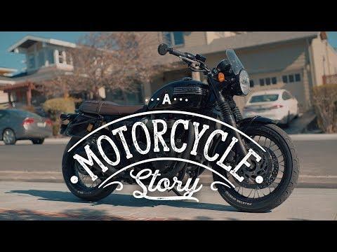 A Motorcycle Story - Triumph Bonneville T120