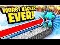THE WORST HACKER EVER Minecraft Skywars mp3