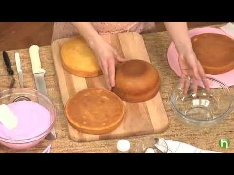 Comment Faire Un Gâteau Princesse Youtube