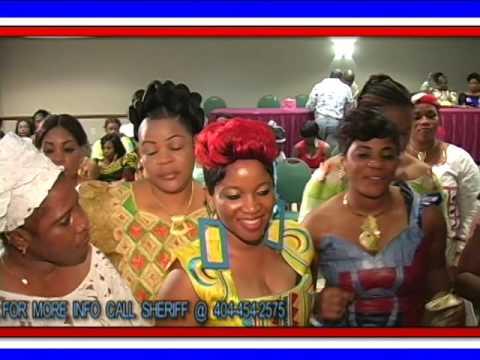 Djama Fanta live performance at Felmausa convention 2012- Guinea, Liberia, Ivory coast, Mali