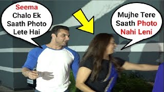 Sohail Khan Wife Seema Khan Running Away From Him -  Marriage In Trouble