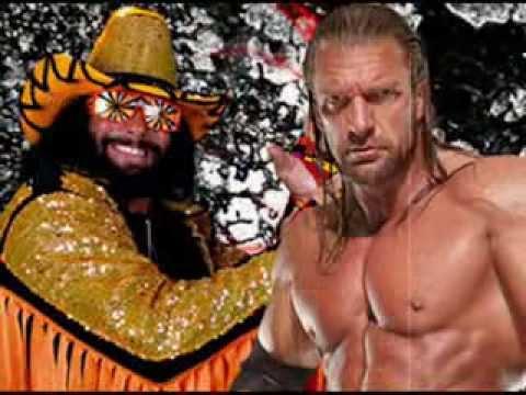 wwe 2k14 dream match promo triple h vs randy savage - Triple H Halloween Costume
