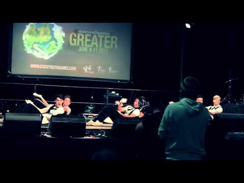 Syndal Mens Aerobics B - State Youth Games 2012