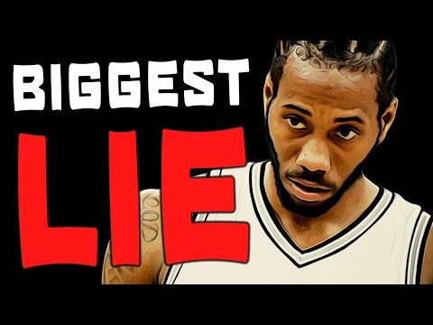 The BIGGEST LIE Told About Kawhi's Trade Request