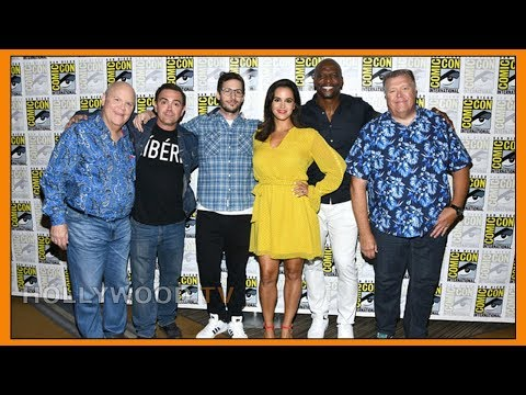The Stars Of BROOKLYN NINE NINE At COMIC-CON - Hollywood TV