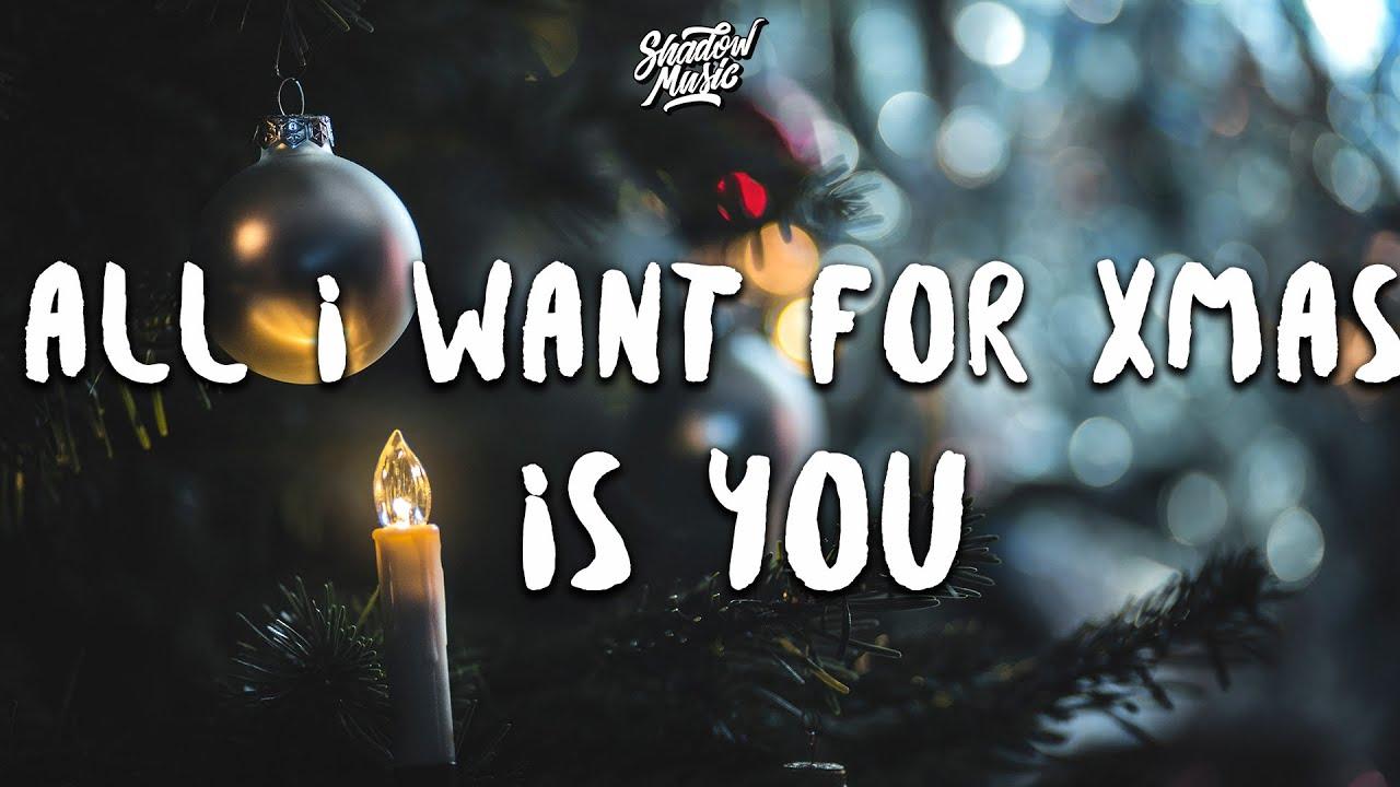 Mariah Carey - All I Want For Christmas Is You (Lyrics) - YouTube