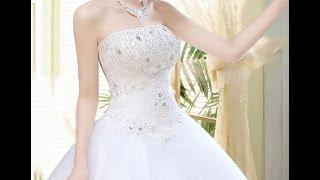 Обзор нового поступления свадебных платьев из китая