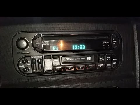 Dodge Ram 2004 Bluetooth and FM modulator into Stereo install DIY
