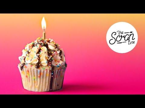 BIRTHDAY CAKE CUPCAKES - SURPRISE EPISODE!!! - I'M 30! - The Scran Line