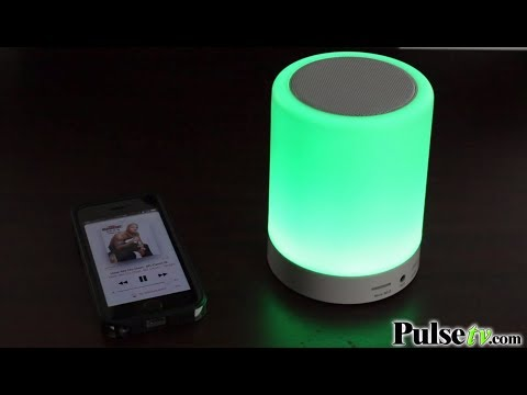 Bluetooth Touchlight Color-Changing LED Speaker by SoundLogic XT