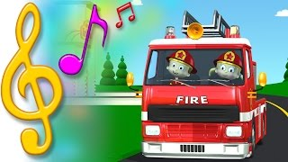 TuTiTu Songs | Fire Truck Song | Songs for Children with Lyrics