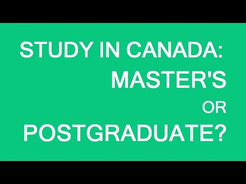Study in Canada. Masters or postgrad? LP Group Canada