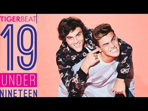 The Dolan Twins: TigerBeat's 19 Under 19
