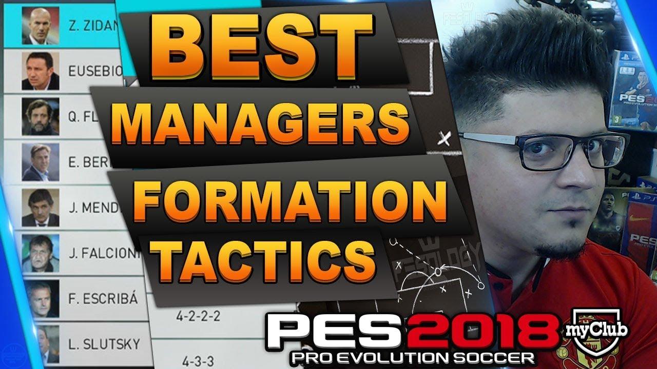 Pep Guardiola Pes 2019 Formation | Pro Evolution Soccer