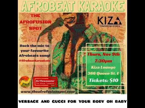 Afrobeat Karaoke Toronto
