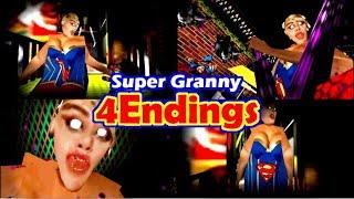 Super Granny【MOD】4Endings ~4つ全てのエンディング~
