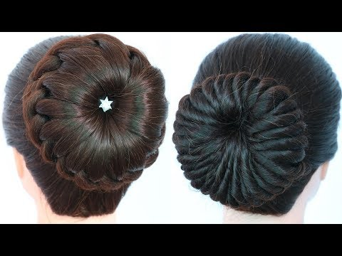 5-easy-and-gorgeous-bridal-hairstyles-||-juda-hairstyle-for-party-and-weddings-||-ladies-hair-style