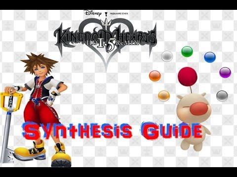 kingdom hearts 2 synthesise In kingdom hearts ii the synthesis items receive a ranking according to the material's form: rank c: shard (かけら, kakera) rank b: stone (しずく elemental materials are represented by four different types of jewels in most games, and three in kingdom hearts 358/2 days an elemental shard is represented as a small.