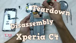Dissembly Teardown of Sony Xperia C4