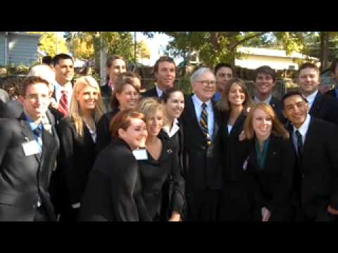 Mr. Buffett the Teacher: Omaha Investor Warren Buffett Met with UNO Students on October 9, 2009