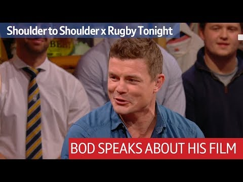 Brian O'Driscoll talks about the making of his new documentary, Shoulder to Shoulder | Rugby Tonight