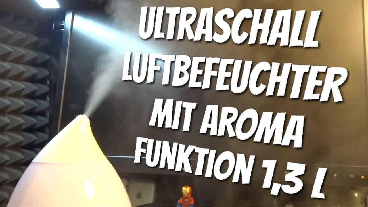 3L Ultraschall Kühlluft Luftbefeuchter Aroma Diffuser Duftlampe mit LED-Licht