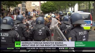German FM warns about rise of far-right extremists