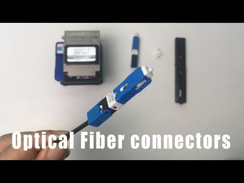 How to make optical fiber connectors | NETVN