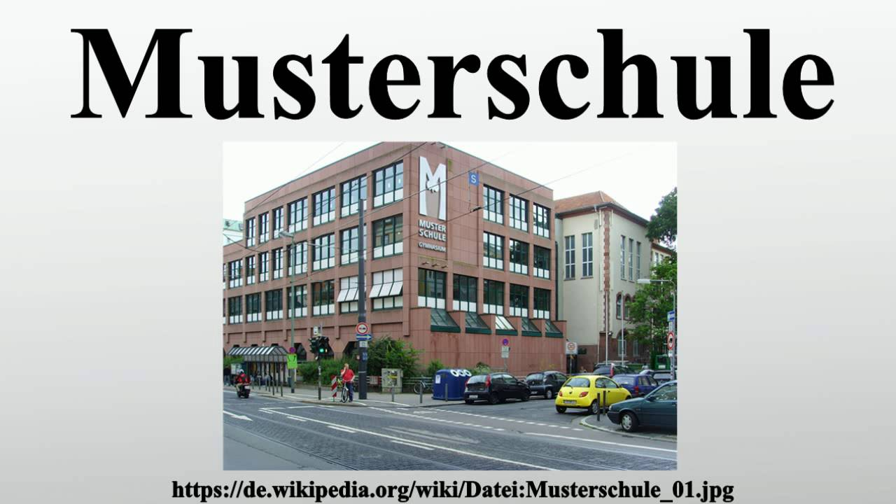Musterschule Youtube