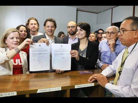 Lula candidato: Repórteres falam sobre o registro direto do TSE