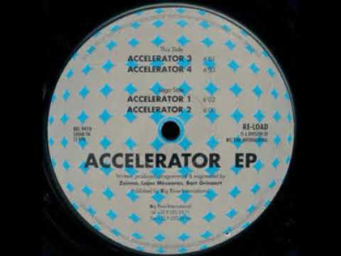 Accelerator - Accelerator 1 - Accelerator E.P.  - Re-load Records – REL 9410