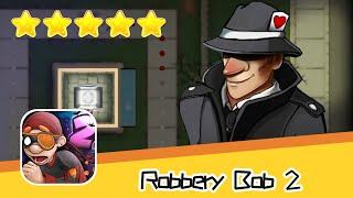 Robbery Bob 2 Hauntington 08 Walkthrough Secret Agent Suit Recommend index five stars