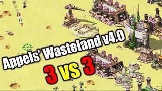 3 vs 3 Command & Conquer: Red Alert 2 Yuri