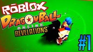 RADITZ IS A GOD?!   Roblox: Dragon Ball Online Revelations   Episode 1