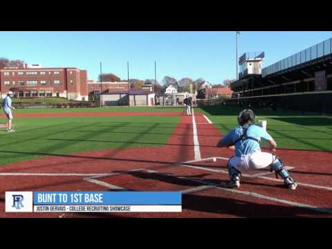 Justin Gervais C/3B – College Baseball Recruiting Video 1 – Class of 2018