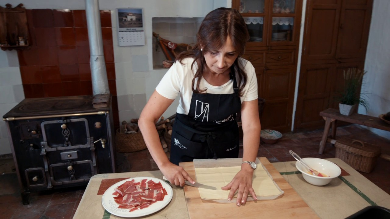 Jamones la serran a mosqueruela cocina f cil con jam n for Torres en la cocina youtube