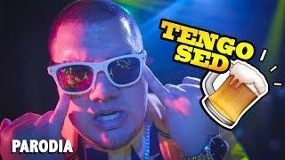 PARODIA DE TE BOTÉ - TENGO SED // FRANDA 🍺
