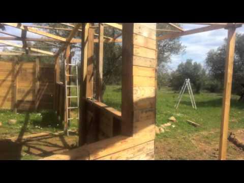 Casa de palets - YouTube
