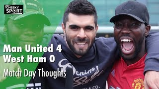 Man united 4 - 0 west ham | match day thoughts feat. adam mckola