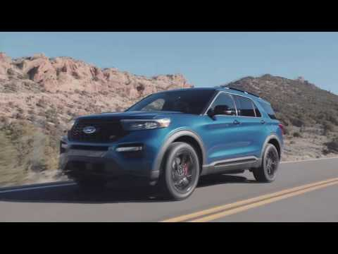 2020 Ford Explorer ST Headlights & Tail Lights
