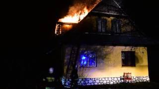 Pożar w Szaflarach