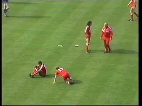 WIMBLEDON FC V LIVERPOOL FC-FA CUP FINAL 1988-ITV-14TH MAY-THE MATCH-PART FOUR-WIMBLEDON WIN