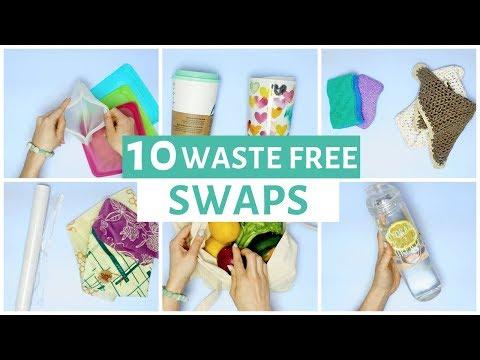 10 Ways to Reduce Waste | Zero Waste Swaps for Beginners