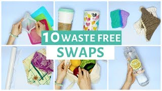 10 Ways to Reduce Waste | Zero Waste Swaps for Beginners