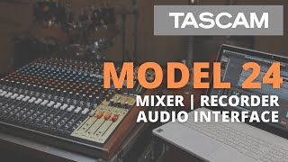 The Model 24 Mixer. Recorder. Audio Interface. Full Walk Through.