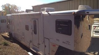 used horse trailer with living area for sale online
