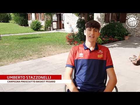Umberto Stazzonelli: prime impressioni dal ritiro di Lamoli / Borgo Pace