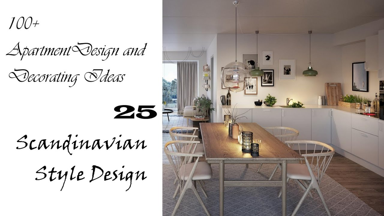 Download 100+ Apartment Design and Decorating Ideas   Scandinavian Style Design #25