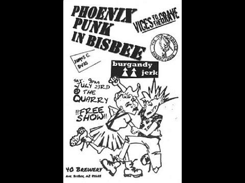 Bisbee Arizona at the Quarry a night of punk rock