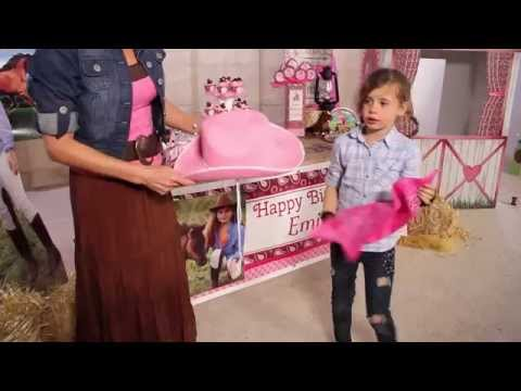 How to Host a Cowgirl Cutie Western Party - Cowgirl - Shindigz Party Supplies